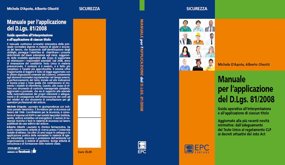 Manuale per l'applicazione del Dl 81-2008