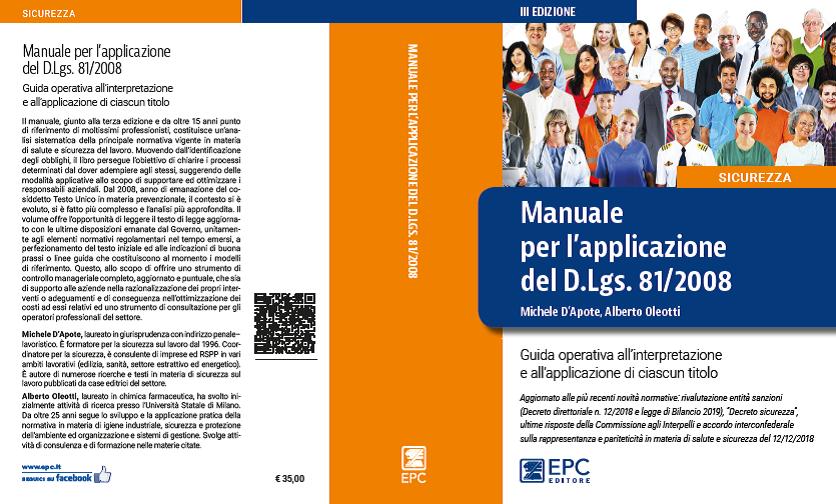 Manuale per l'applicazione del Dl. 81-2008-3